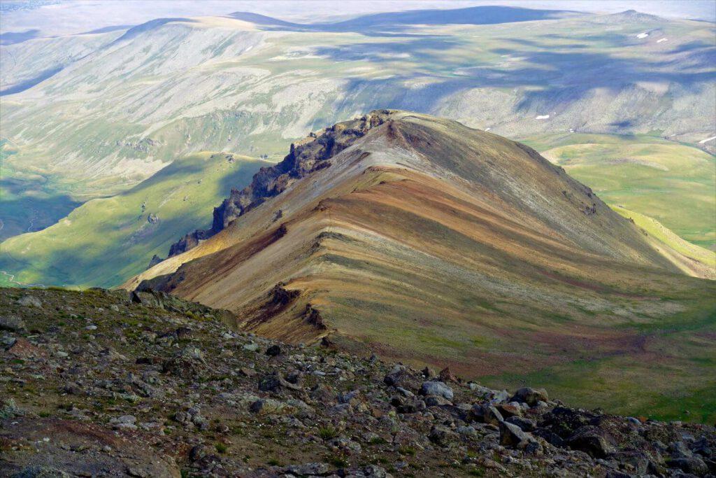 Ausblick vom Aragats.