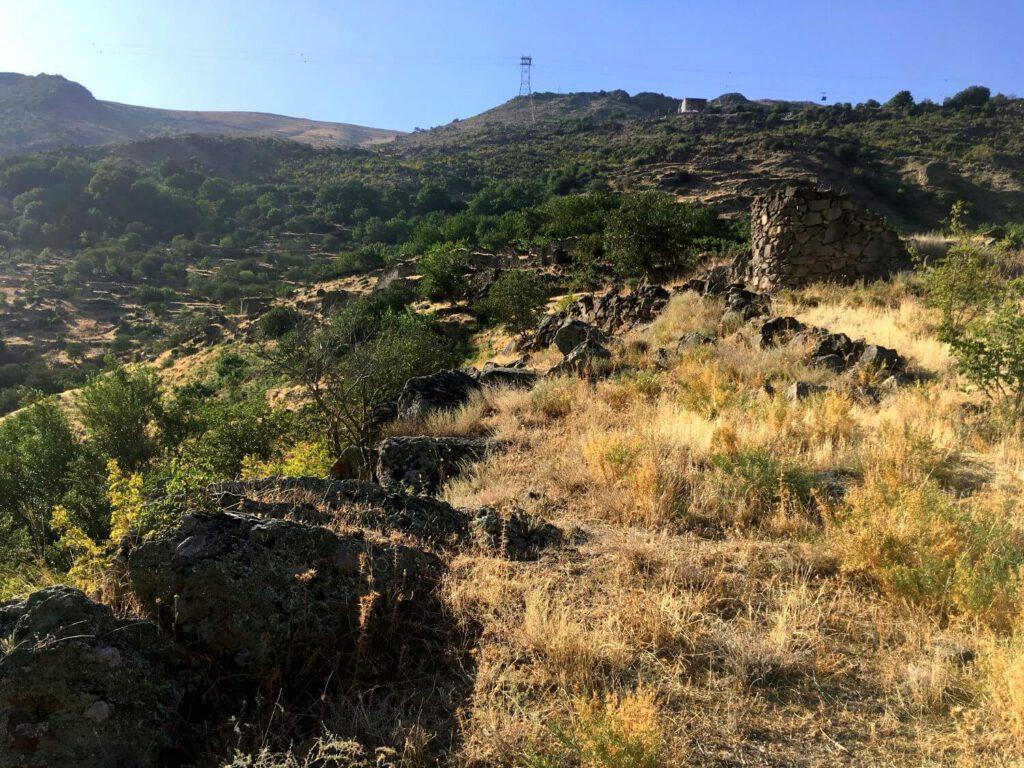 Ruinen des Dorfs Halidzor.