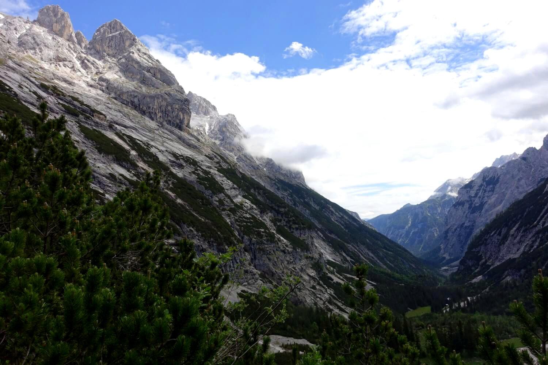 Wandern auf die Zugspitze