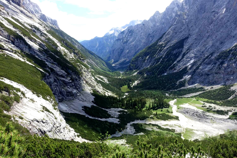 Ausblick vom oberen Reintal.