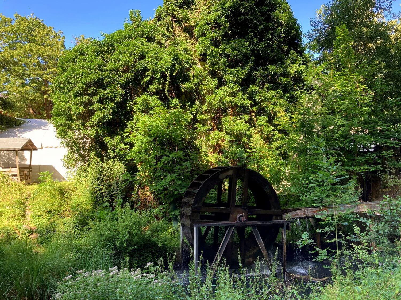 Bremsdorfer Mühle am Wanderweg Schlaubetal.