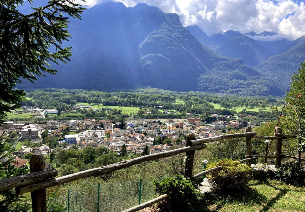 Ende der Wanderung durch das Val Grande.