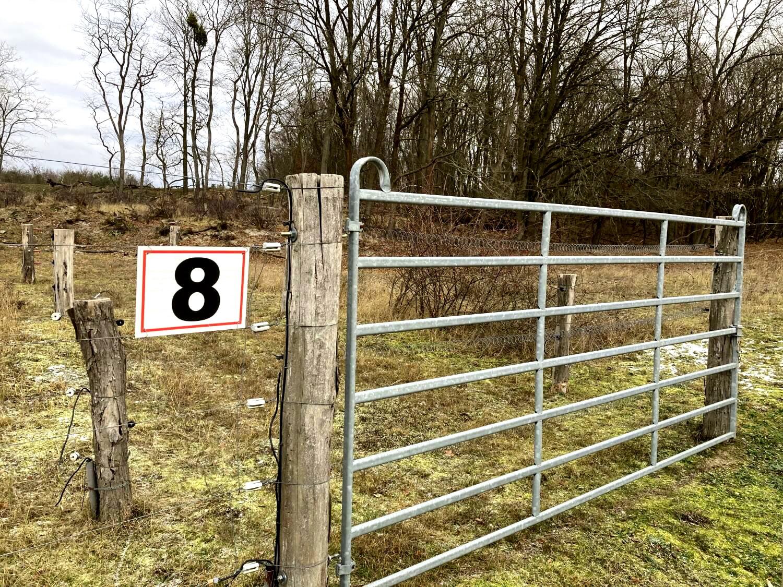 Zaun an der Kernzone Döberitzer Heide.