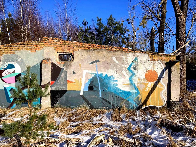 Zerfallenes Gebäude auf dem Garnisonsgelände Vogelsang.