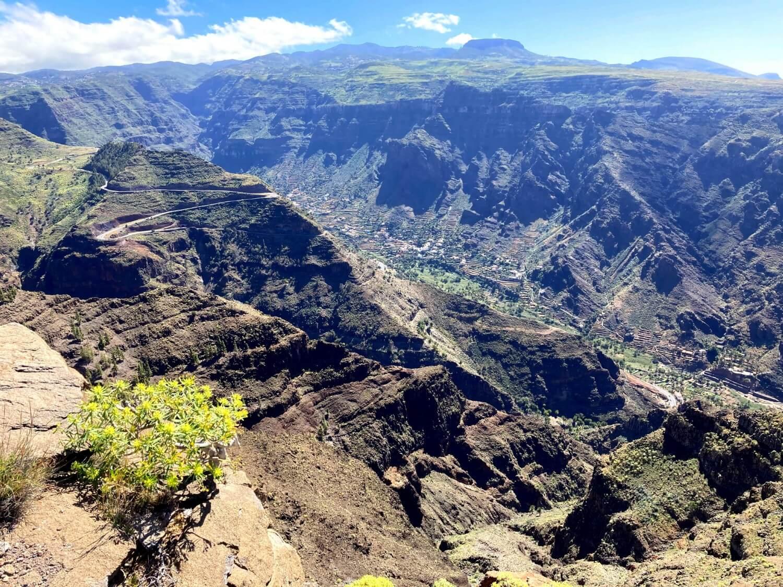 Ausblick ins Valle Gran Rey.
