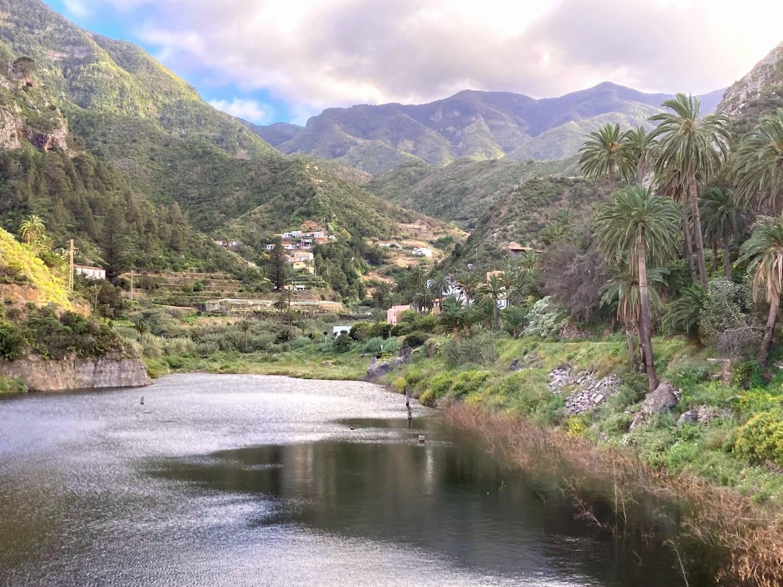 Der Stausee Embalse de Encantadora in Vallehermoso.