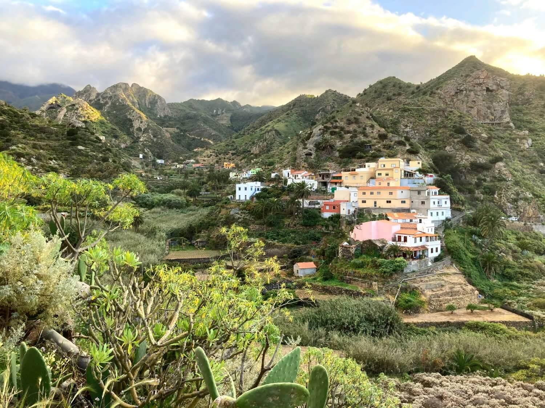 Wandern in Vallehermoso und Hermigua.