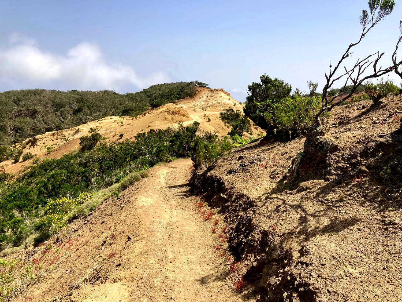 Wandern in La Gomera im Nordwesten.