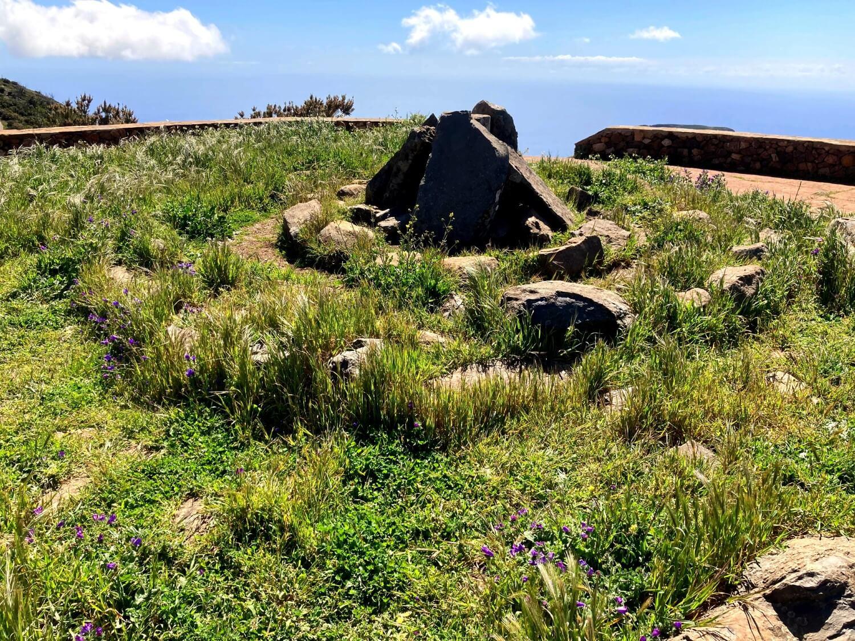 Alto de Garajonay, der höchste Punkt von La Gomera.
