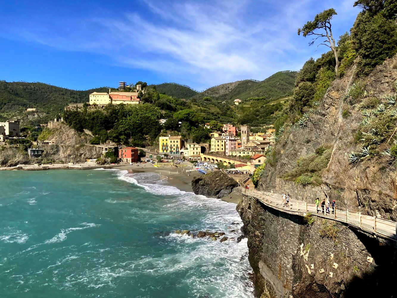 Monterosso al Mare in den Cinque Terre.