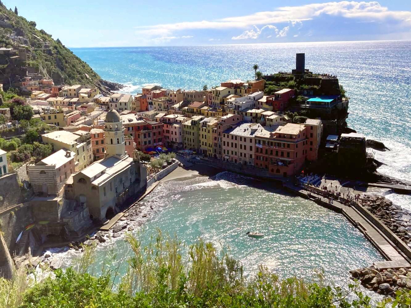 Vernazza gilt als schönstes Dorf der Cinque Terre.