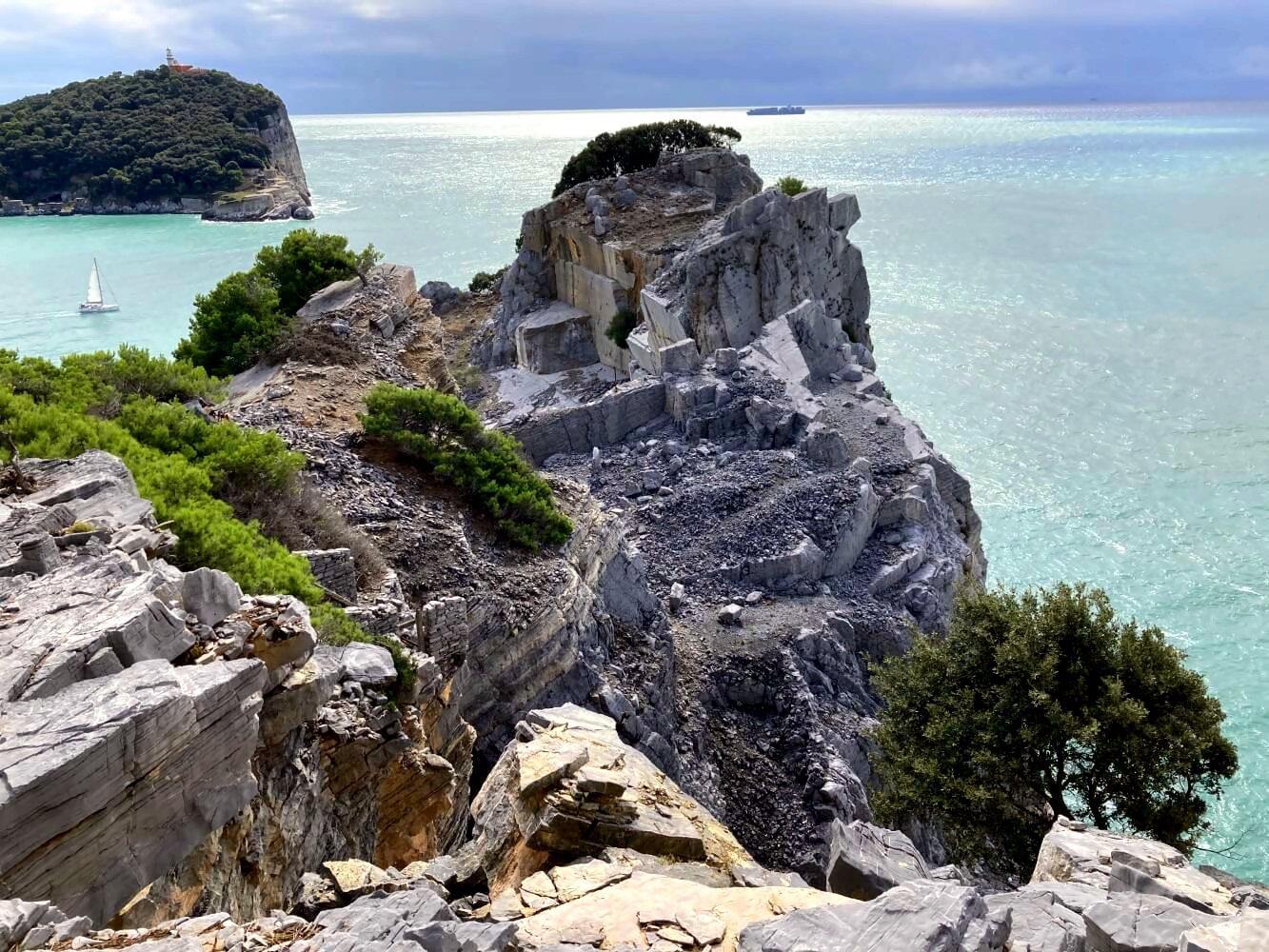 Steinbruch von Palmaria.