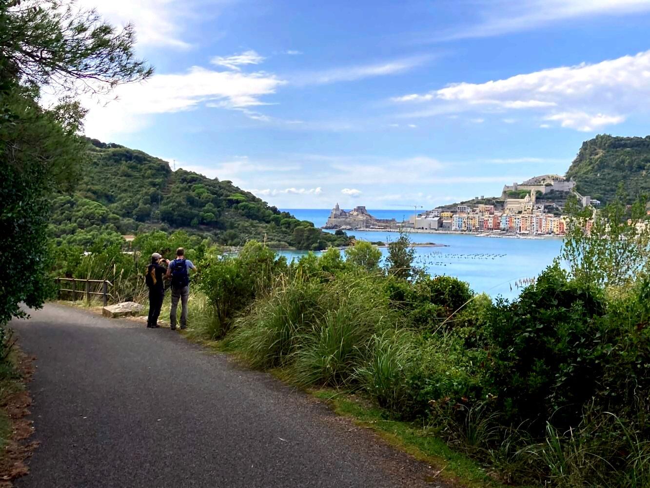 Blick auf Porto Venere.