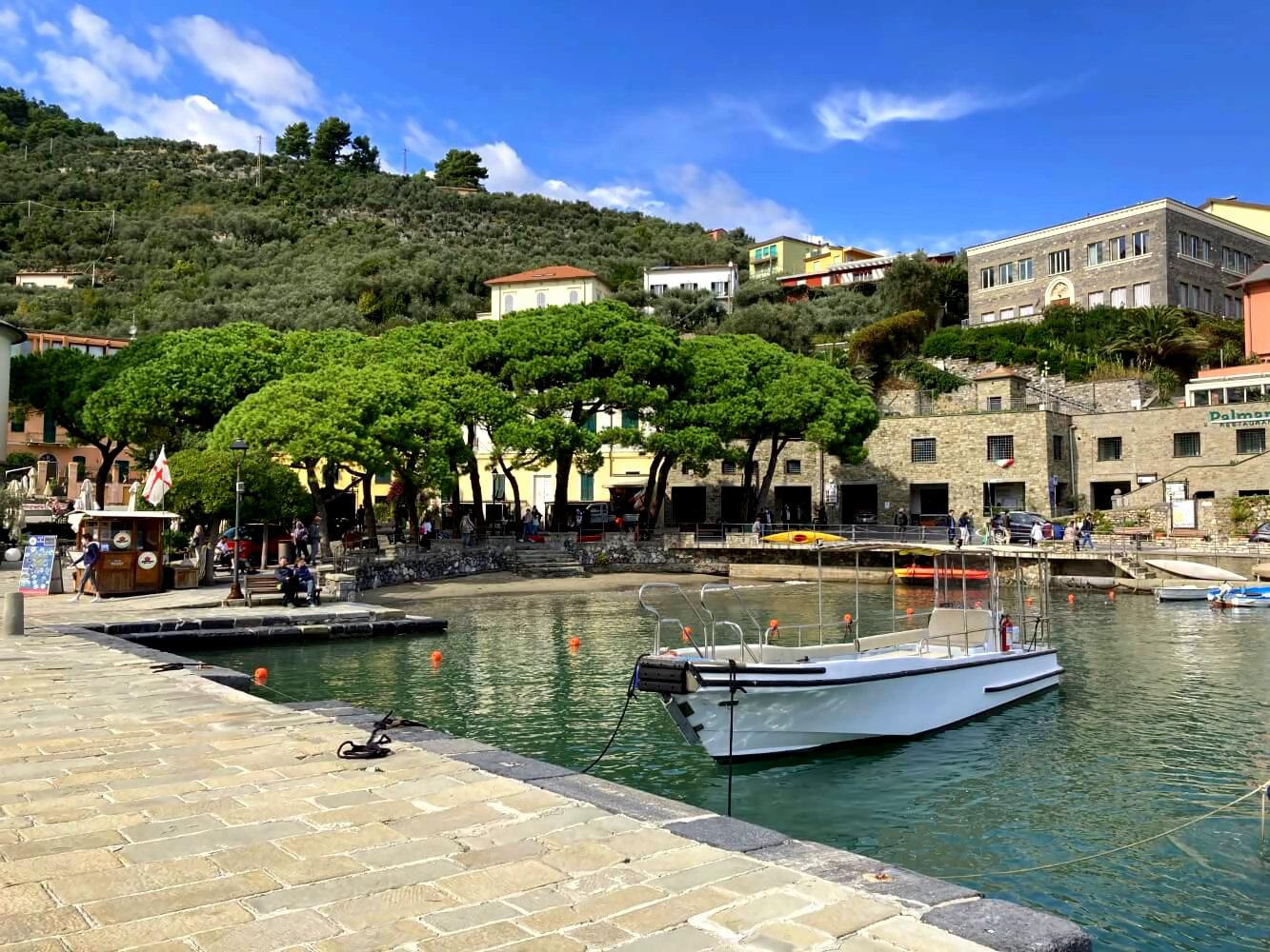 Anlegestelle für das Boot nach Palmaria.