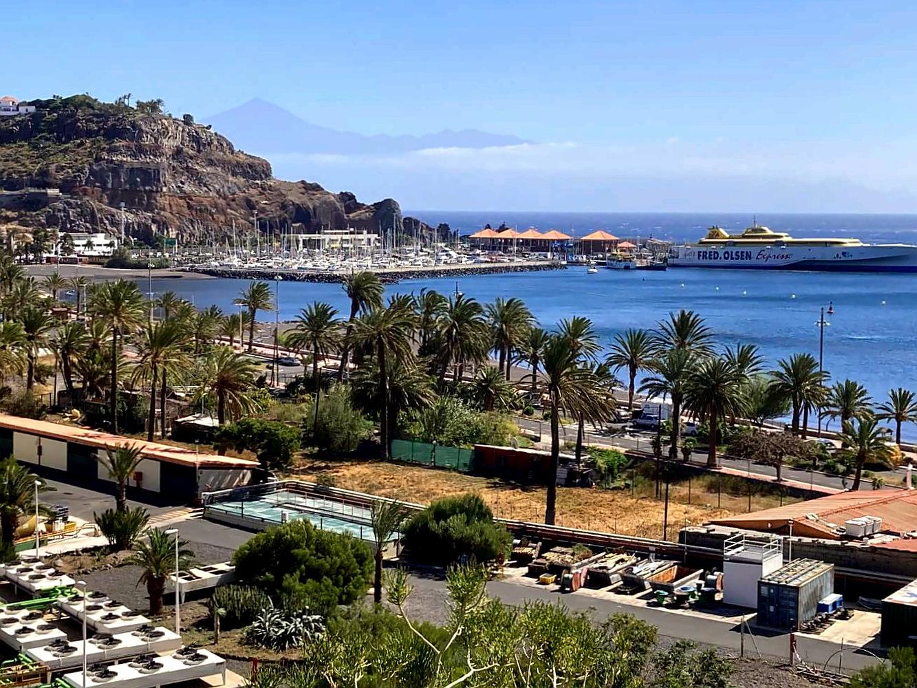 Blick auf San Sebastian de La Gomera.
